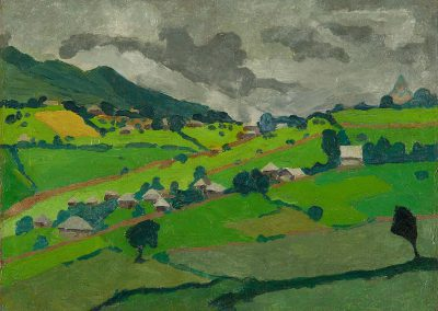 """Landscape of Imereti"" oil on canvas, 30X40cm. 1915"