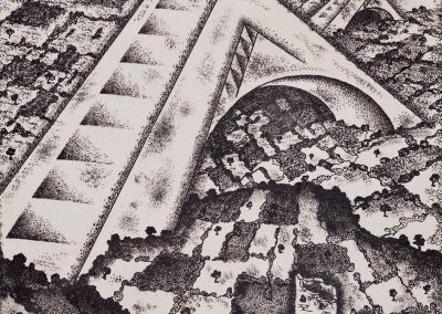 """""""Industry"""" lithography, 22X17cm. 1927"""