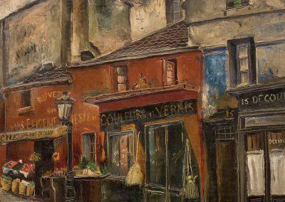 """""""Paris"""" oil on canvas, 38,5X45,5cm. 1925"""