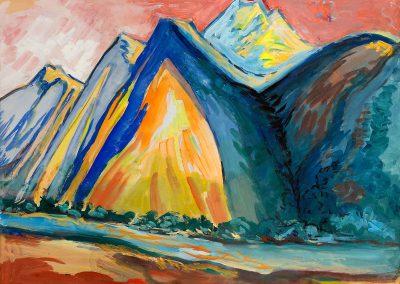 100 – Jubilee 'Art of Georgian Painters 1919 Tiflis – 2019 Tbilisi'