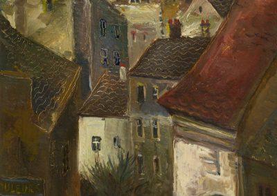 'Paris' oil on canvas, 45,5X35,5cm. 1925